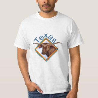 Camiseta del diseño de Bull de la vaca del ganado Camisas