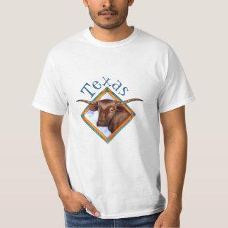 Camiseta del diseño de Bull de la vaca del ganado Remeras