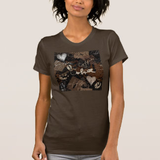 Camiseta del diseño del café remera