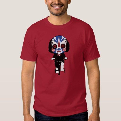 Camiseta del diseño del kuroi-T del》 de la sierra Playeras