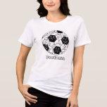 Camiseta del diseño del kuroi-T del》 del fútbol de