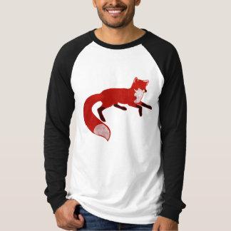 Camiseta del diseño del vintage del Fox Playera
