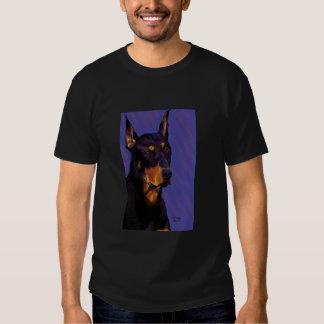 Camiseta del Doberman Playera