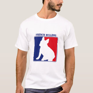 Camiseta del dogo francés de la primera división