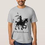 Camiseta del Don Quijote y Rocinante Polera