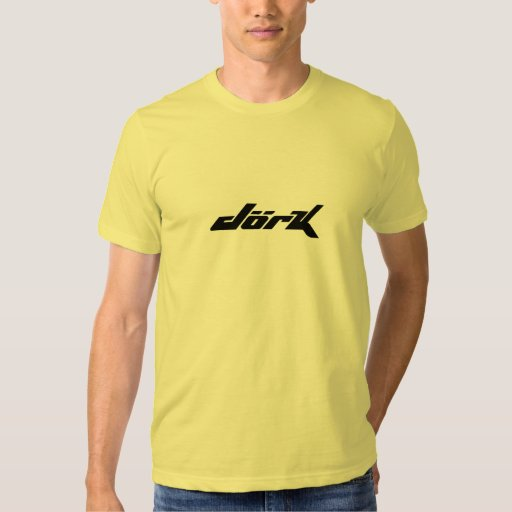 Camiseta del Dork Poleras