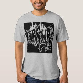 Camiseta del dos-fer de la pintada de Darkcyde Remera