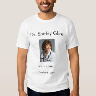 Camiseta del Dr. Shirley Glass Remeras
