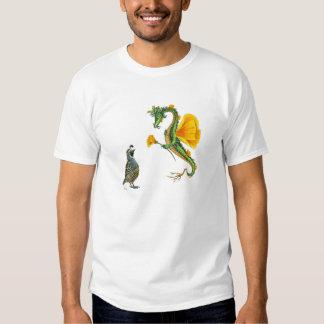 Camiseta del dragón de California Camisas