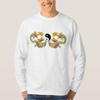 Camiseta del dragón de Yin Yang Camisas