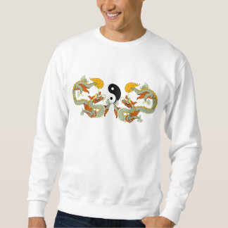 Camiseta del dragón de Yin Yang Sudadera