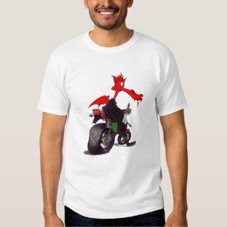 Camiseta del dragón del motorista de Welsk Camisas