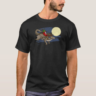 Camiseta del dragón del navidad