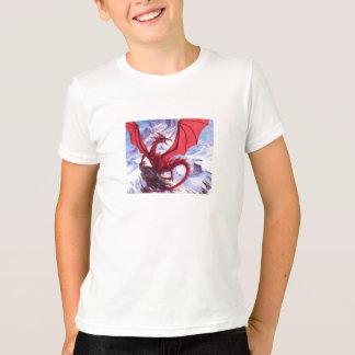camiseta del dragón playera