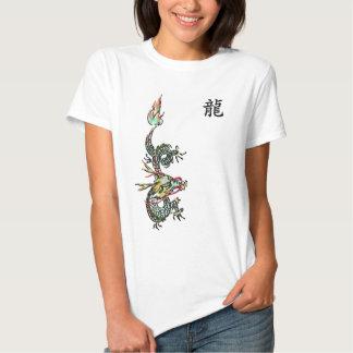 Camiseta del dragón polera