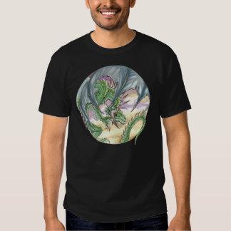 Camiseta del dragón verde remeras