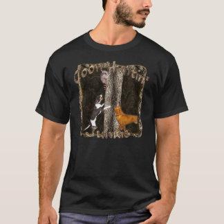 Camiseta del drogadicto de Huntin del Coon