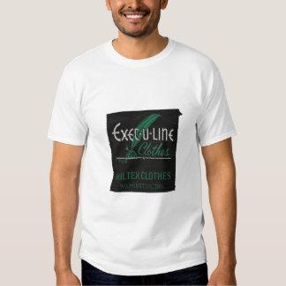 Camiseta del Ejecutivo-U-Line Camisas