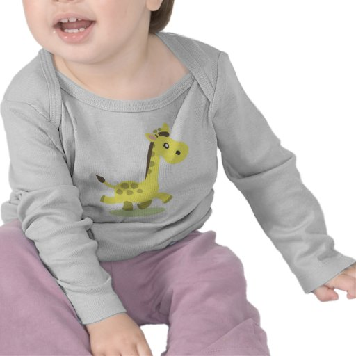 Camiseta del ejemplo de la jirafa
