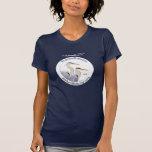 Camiseta del ejemplo de las garzas de Cornell