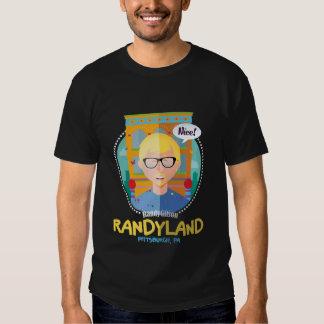 Camiseta del ejemplo de Randy Gilson Playeras