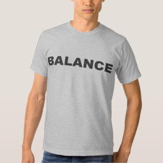 Camiseta del ejército de la balanza poleras