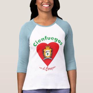 Camiseta del EL Corazón del en de Cienbfuegos