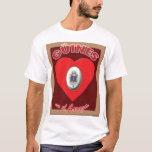 Camiseta del EL Corazón del en de Güines
