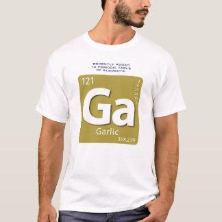 Camiseta del elemento del ajo