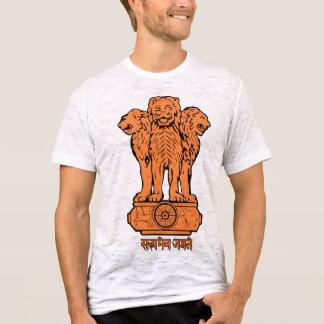 Camiseta del emblema de la India