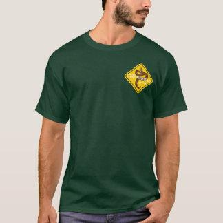 Camiseta del emblema del diamante del lazo de