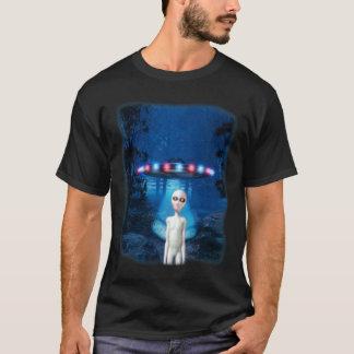 Camiseta del encuentro del bosque del UFO