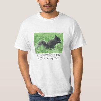Camiseta del enemigo de la ardilla playeras