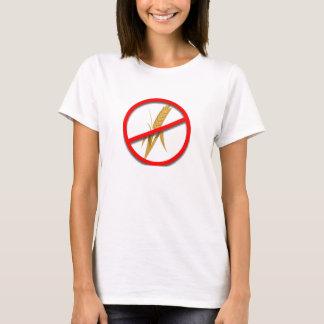 camiseta del enemigo del gluten del wheatfree