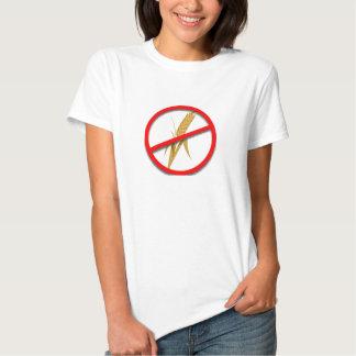 camiseta del enemigo del gluten del wheatfree playeras