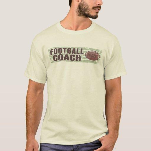 Camiseta del entrenador de fútbol