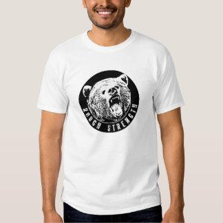 Camiseta del entrenamiento de la fuerza del playeras