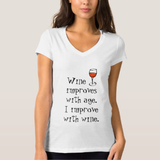 Camiseta del entusiasta del vino poleras