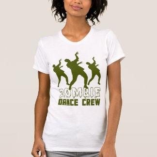 Camiseta del equipo de la danza del zombi playeras
