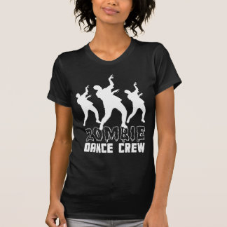 Camiseta del equipo de la danza del zombi polera