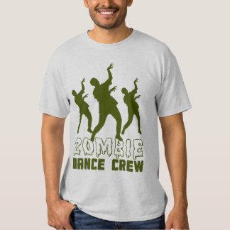 Camiseta del equipo de la danza del zombi remeras