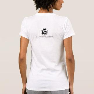 Camiseta del equipo de las mujeres del rayo de esp