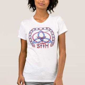 Camiseta del equipo de las señoras de Triquetra de