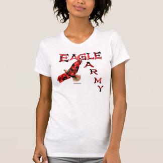 Camiseta del equipo de las señoras del ejército de
