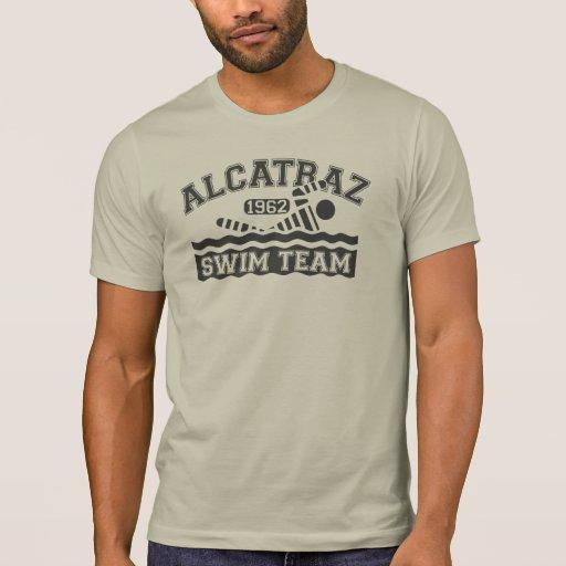 Camiseta del equipo de natación de Alcatraz