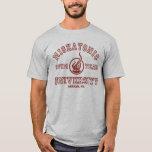 Camiseta del equipo de natación de Miskatonic