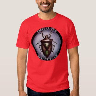 Camiseta del equipo de rescate del insecto del playeras