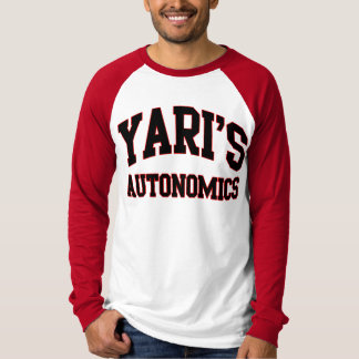 Camiseta del equipo del softball de Autonomics de
