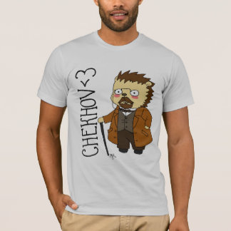 Camiseta del erizo de Chekhov