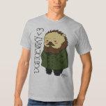 Camiseta del erizo de Dostoevsky Playeras